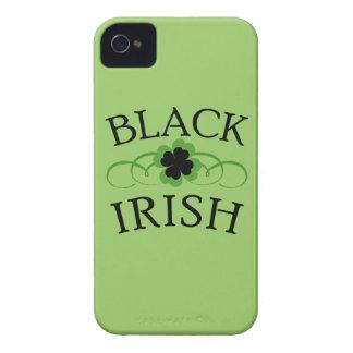 Cubiertas irlandesas negras del teléfono Case-Mate iPhone 4 funda