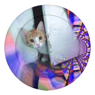 Cubiertas lindas del botón del gatito paquete grande de tapabotones