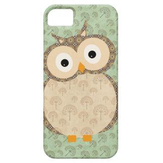 Cubiertas lindas del búho iphone5 del bebé iPhone 5 protector