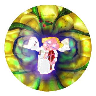 Cubiertas Violine del botón del jugador del ángel Paquete Grande De Tapabotones