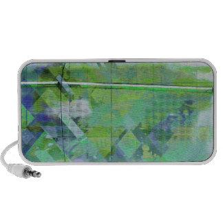 Cubik clouds greens travelling speakers