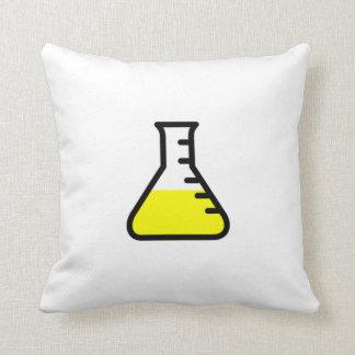 Cubilete de la ciencia de la química cojines