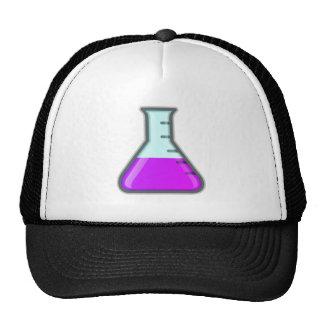 Cubilete de la ciencia de la química gorro de camionero