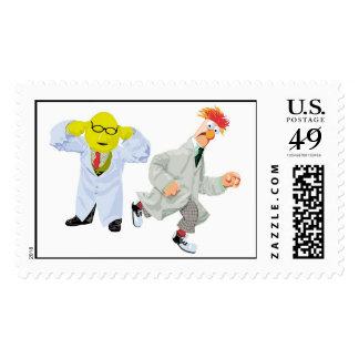 Cubilete y Bunson Disney de los Muppets Franqueo