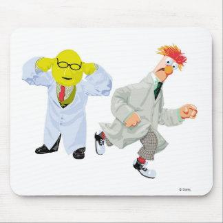 Cubilete y Bunson Disney de los Muppets Tapete De Raton