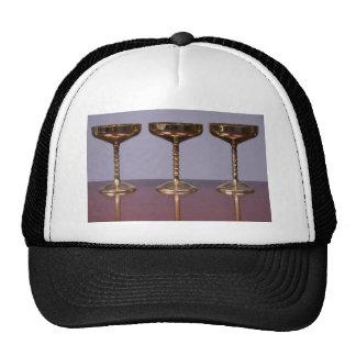 cubiletes brillantes gorras