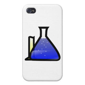 Cubiletes de la química iPhone 4 cobertura