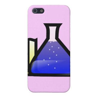 Cubiletes de la química iPhone 5 protector