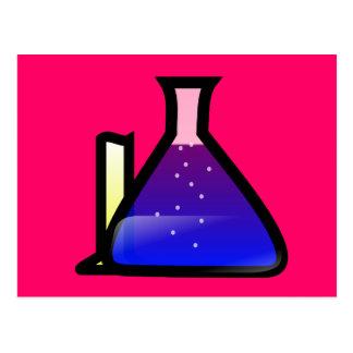 Cubiletes de la química postal