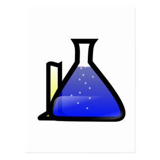 Cubiletes de la química tarjetas postales