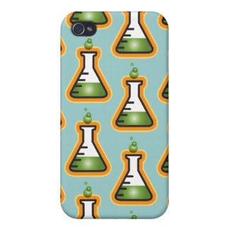 Cubiletes enojados del científico iPhone 4 cobertura