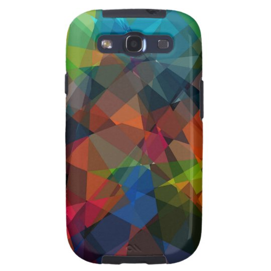 Cubism Abstract Art | Modern Geometric Pattern 6 Samsung Galaxy SIII Cover