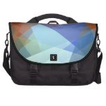 Cubism Abstract Art | Retro Geometric Pattern Bag For Laptop