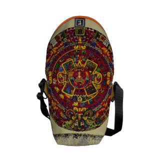 Cubism Aztec Design Bag Messenger