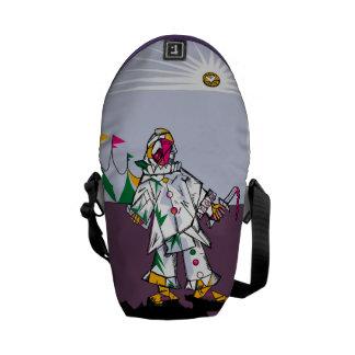Cubism Clown Bag Messenger