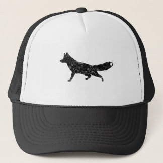 Cubism Fox Trucker Hat