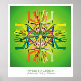 Cubismo invertido póster