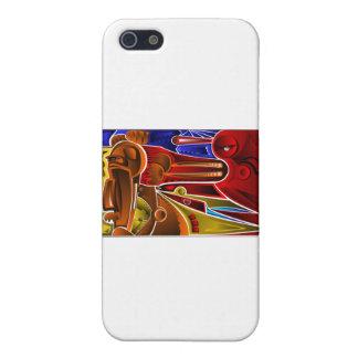 Cubismo Salvaje iPhone SE/5/5s Cover