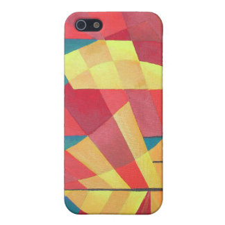 Cubist Abstract of Junk Sails and Ocean Skies Cover For iPhone SE/5/5s
