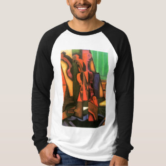 Cubist art Violin and Guitar painting by Juan Gris T-Shirt