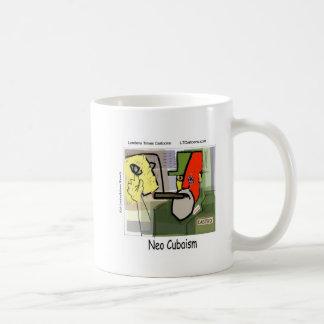 Cubist Castro NeoCubaism Funny Classic White Coffee Mug