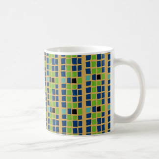 Cubist Classic White Coffee Mug
