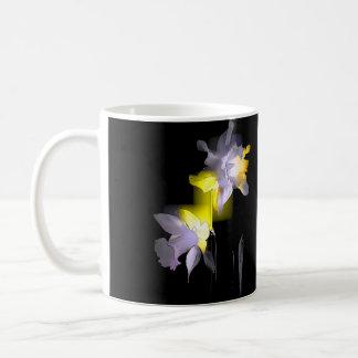Cubist Daffodils Classic White Coffee Mug