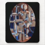 Cubist Figure Rendering (Mousepad)