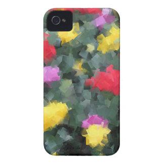 Cubist Flowers iPhone 4 Case