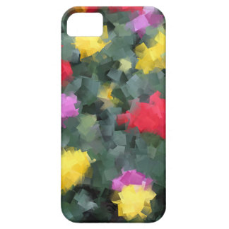 Cubist Flowers iPhone SE/5/5s Case