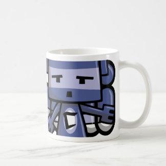 Cubist Mascot Classic White Coffee Mug