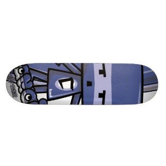 Cubist Mascot Custom Skate Board