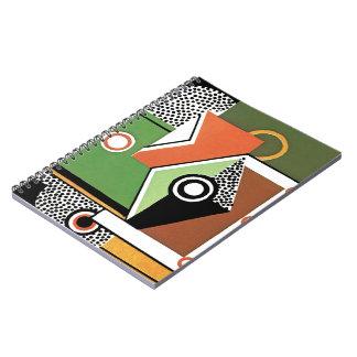Cubist Modern Notebook