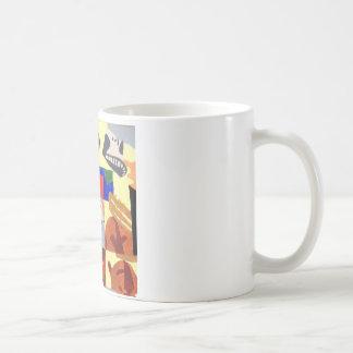 Cubist mug