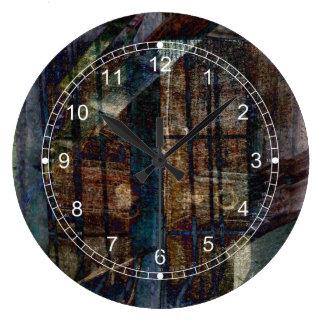 Cubist Shutters, Doors & Windows Large Clock