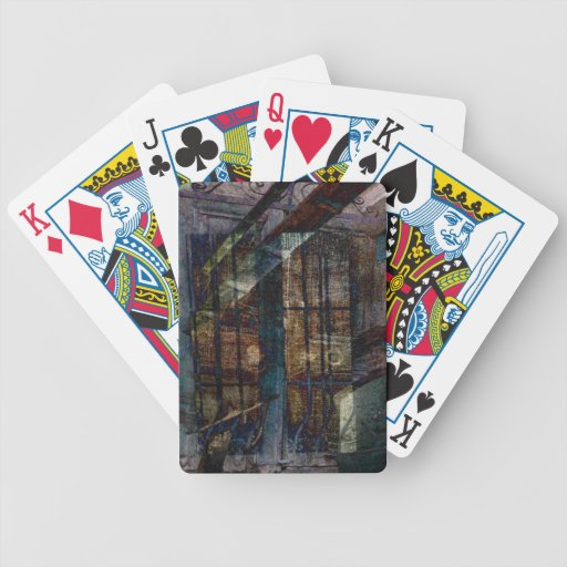 Cubist Shutters, Doors & Windows Bicycle Playing Cards
