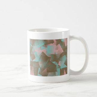 Cubist Theme Classic White Coffee Mug