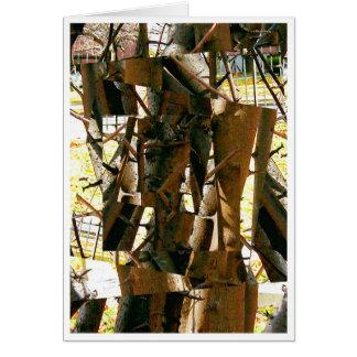 cubist tree card