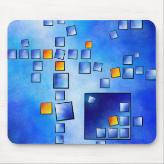 Cublerossia V1 - falling cubes Mouse Pad