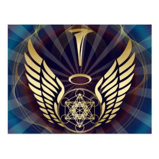 Cubo angelical de Merkaba-Metatron Postal