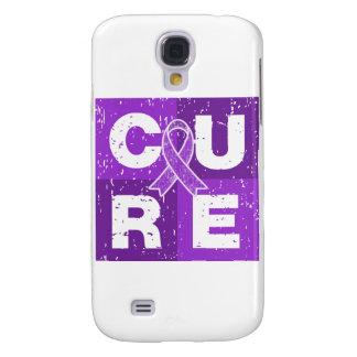 Cubo apenado cáncer del ESENCIAL de la CURACIÓN Funda Para Galaxy S4