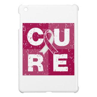 Cubo apenado cáncer principal del cuello de la CUR iPad Mini Cobertura