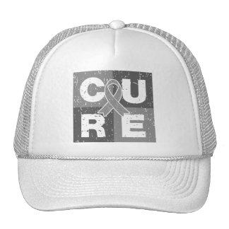 Cubo apenado del cáncer de cerebro de la CURACIÓN Gorro