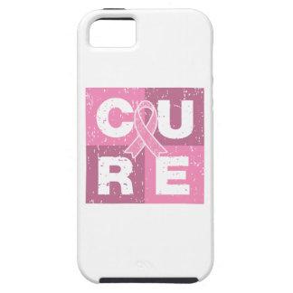 Cubo apenado del cáncer de pecho de la CURACIÓN iPhone 5 Cobertura