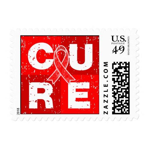 Cubo apenado VIH del SIDA de la CURACIÓN Franqueo
