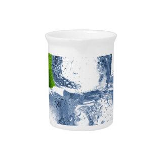 Cubo de hielo fresco usted mismo jarra de beber
