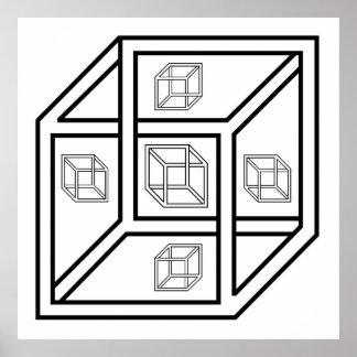 Cubo de Impossilbe Poster