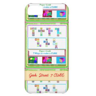 CUBO de la calle 7 del FRIKI: Lecciones del arte d Funda Para iPhone 5C