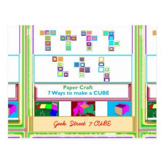 CUBO de la calle 7 del FRIKI: Lecciones del arte d Postales