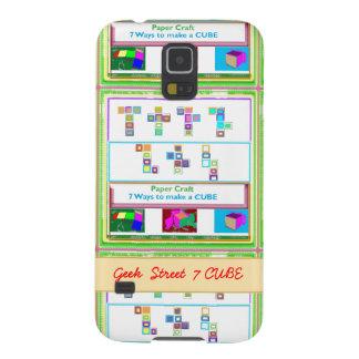 CUBO de la calle 7 del FRIKI: Lecciones del arte Carcasas De Galaxy S5